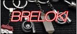 Samochodowe breloczki do kluczy