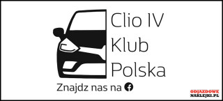 Clio IV Klub Polska 12cm