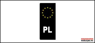 Euroband Czarno biało żółty