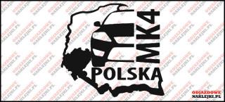 Ford Mondeo Mk4 Grupa Dolny Śląsk 10cm ODBLASK
