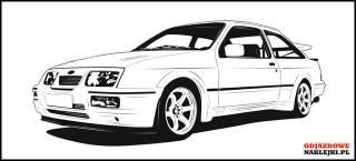 Ford Sierra Cosworth 100cm