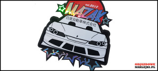 Mazak Sticker Nissan