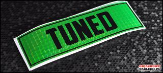 Tuned 18cm Green Prizma