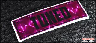 Tuned 18cm Pink