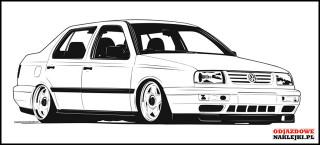 Volkswagen Vento 100cm black mat