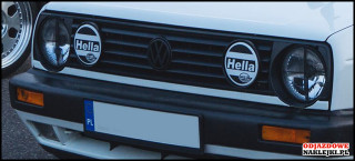 Hella Halogen Sticker 14cm