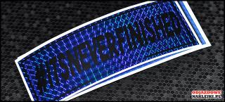 itsneverfinished 18cm niebieska prisma