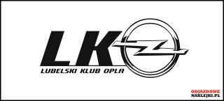 Lubelski Klub Opla logo 15cm