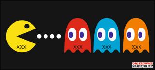 Pacman z Twoją Marką 25cm kolor
