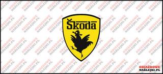 Skoda Kurak Logo 7cm