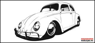 Volkswagen Beetle 100cm black mat
