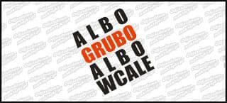 Albo Grubo Albo Wcale 10cm