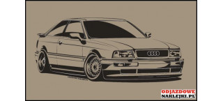 Audi Coupe 100cm czarny mat