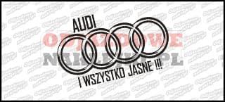 Audi i wszystko jasne 15cm