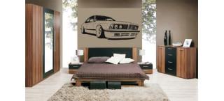 BMW 635 Csi 100cm czarny mat