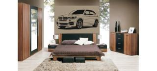 BMW X5 M 100cm czarny mat