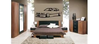 BMW E36 M3 Coupe 100cm Czarny mat