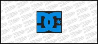 DC 10cm Niebieskoczarna