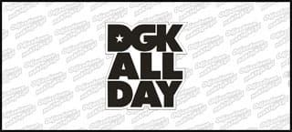 DGK All Day Białoczarna 10cm