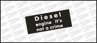 Diesel engine it's not a cirme 15cm