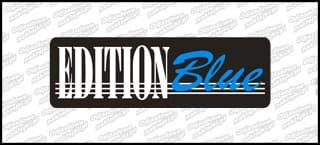 Edition Blue 3D