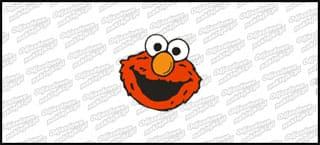 Elmo Head 10cm