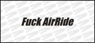 Fuck AirRide 10cm