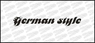 German Style A 10cm