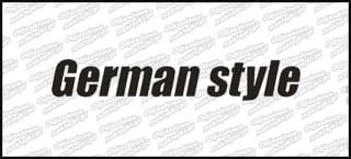 German Style B 10cm