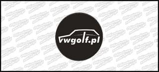 VWGolf.pl 3D 60mm dekielek