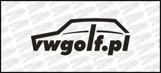 VWGolf.pl Mk1 Logo 10cm