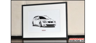 Grafika BMW 5er Touring E61