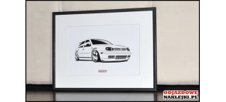 Grafika Vw Golf Mk4 5d