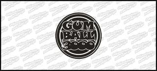 Gumball 3D 60mm dekielek