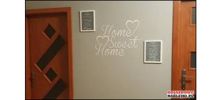 Home Sweet Home 100cm czarny mat