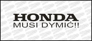 Honda Musi Dymić !!!! 15cm