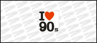 I love 90s color 10cm