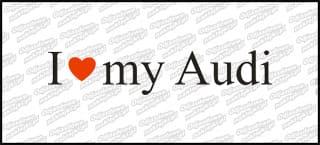 I love my Audi 20cm