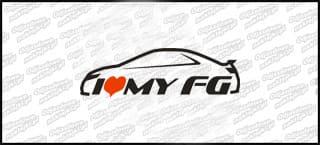 I love my Civic FG 18cm biała