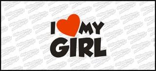 I love my Girl 15cm biała