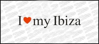 I love my Ibiza 18cm biała