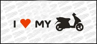 I love my Piaggio NRG MC2 20cm