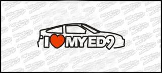 I love My Honda ED9 20cm biała