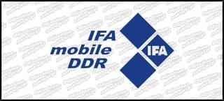 Ifa Mobile BW 20cm granatowa