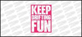 Keep Drifting Fun Różowa 10cm