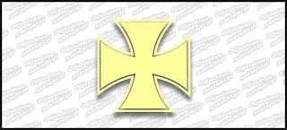 Krzyż A 10cm Beige