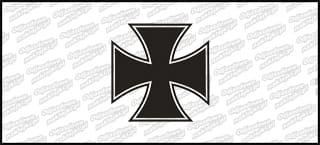 Krzyż A 10cm