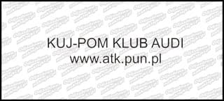 Kuj Pom Klub Audi tekst 15cm