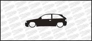 Low Opel Astra GSI 15cm