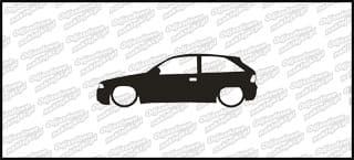 Low Opel Astra GSI 15cm
